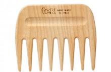 Pettine in legno naturale Tek