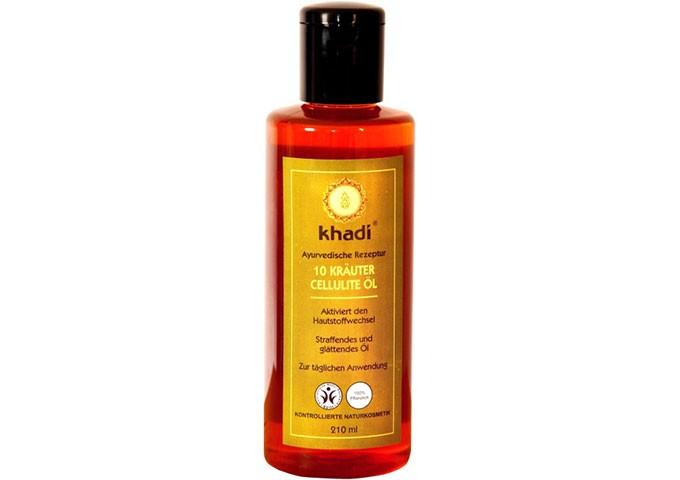 Olio Anticellulite naturale alle 10 Erbe - Khadi