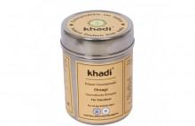Maschera Khadi all'arancia