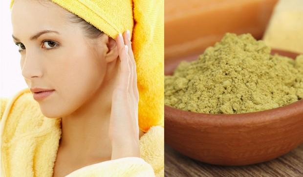Rimedi naturali per capelli grassi: maschera fai da te all'argilla verde