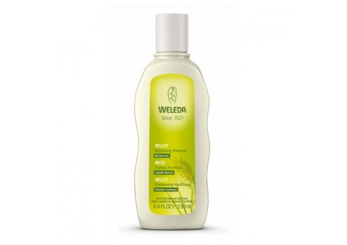 Shampoo Weleda al miglio