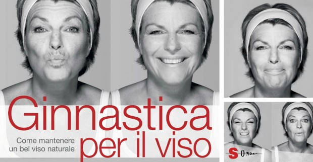 La ginnastica facciale aiuta a prevenire le rughe. 10 minuti al giorno davanti allo specchio!