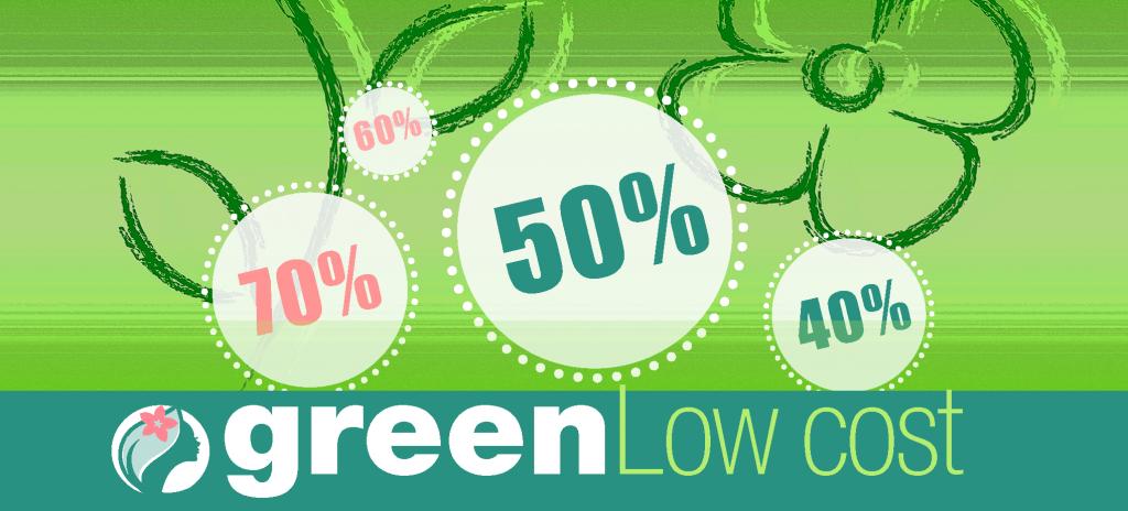 Bellezza al naturale le migliori offerte dal mondo green for Arredamento parrucchieri low cost